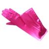 Wedding Gloves Satin Opera Length Fuchsia